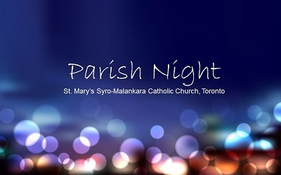 Parish Night - St Mary's Malankara Catholic Church, Toronto