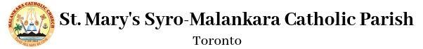 St. Mary's Syro-Malankara Catholic Church, Toronto Logo