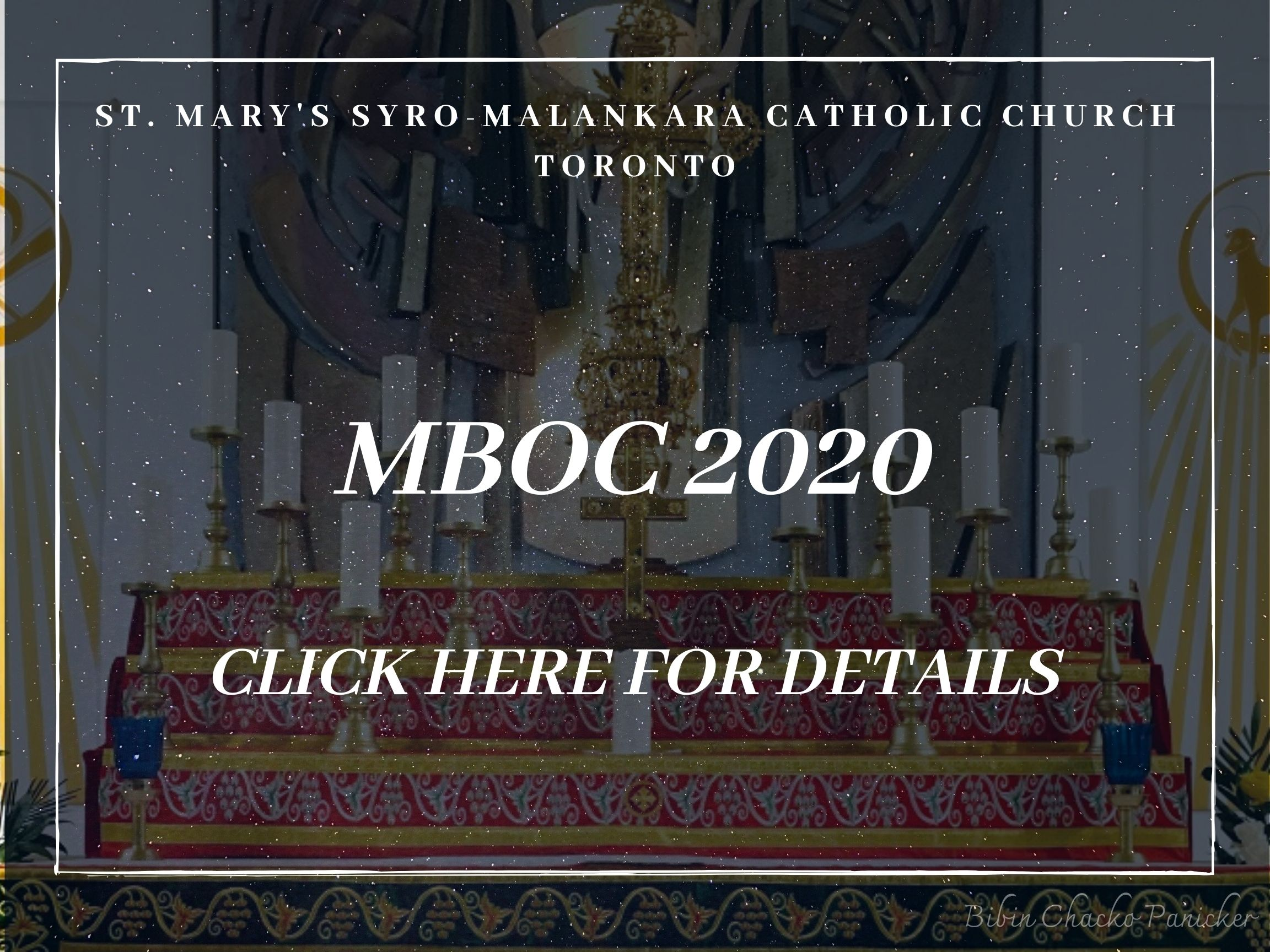 MBOC 2020- St Marys' Syro-Malankara Catholic Church, Toronto
